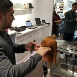 Ivo taking in the GOLDWELL Master Stylist lessons
